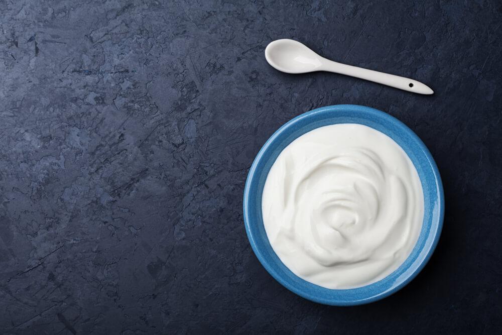 Greek Yogurt In a Bowl