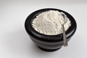 A Bowl Of Diatomaceous Earth