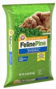 Feline Pine Original Unscented Non-Clumping Odor Con