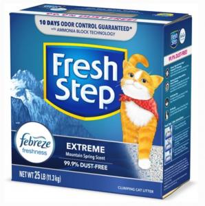 Fresh Step Extreme Odor Control Febreze Clumpi