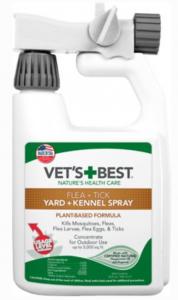 Vets flea spray for cats