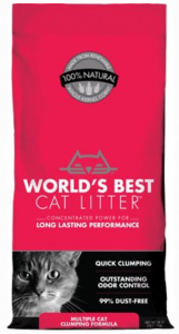 World's Best Multi-Cat Unscented Litter For Odor Control